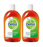 Dettol antiseptic disinfectant liquid for first aid,surface cleaning and personal hygiene,550ml each(pack of 2)