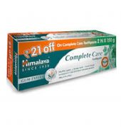 Himalaya herbals complete care toothpaste-150g(pack of 2,rupees 21 off)