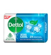 Dettol Anti-Bacterial Hand and Body, Bar Soap, Cool